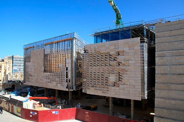 Новое здание парламента в Валетте