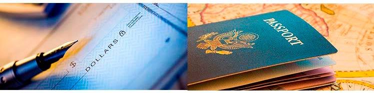 иностранный банковский счет, второй паспорт