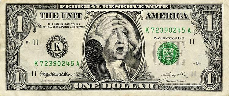 рост американского национального долга?