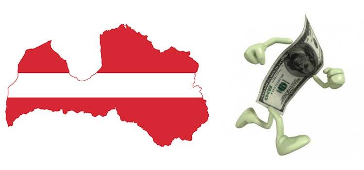 Куда уходят деньги из Латвии