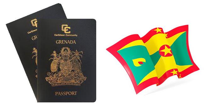 Флаг и паспорт Гренады