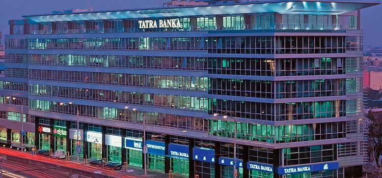 счет в Tatra Banka с личным визитом директора