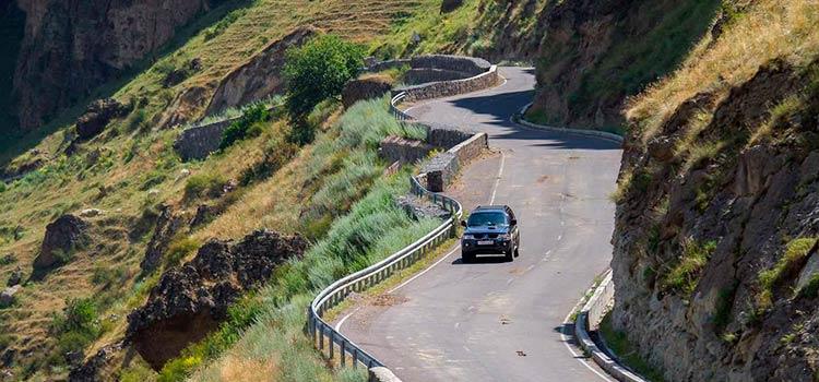 состояние дорог в Грузии на сегодняшний день