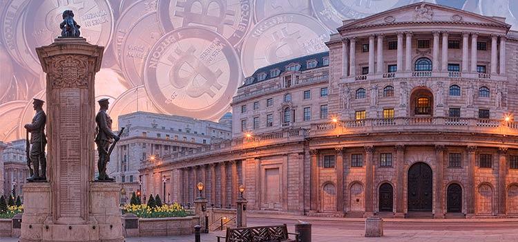Банк Англии предупредил бизнес о рисках использования криптовалют
