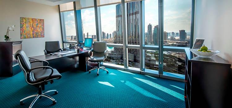 Офис в Дубае, подходящий для получения лицензии для местной компании