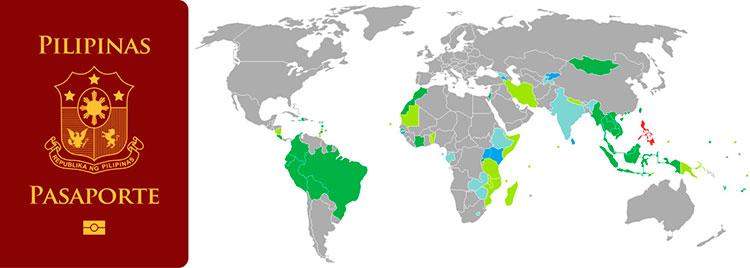 Безвизовые страны для Филиппин – Информация для участников схемы SIRV