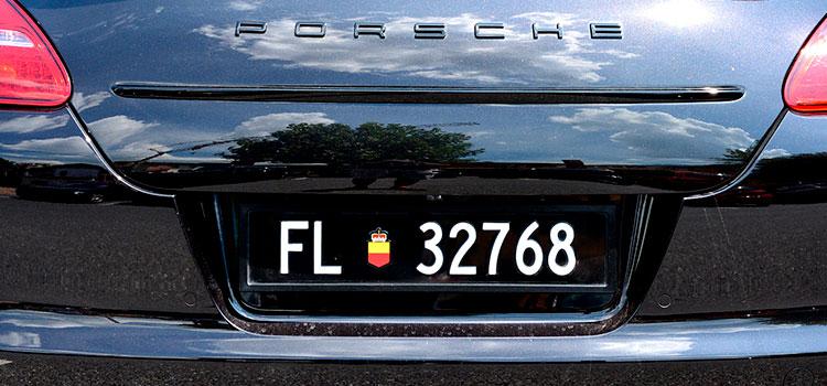 Регистрация автомобиля в Лихтенштейне – Индивидуальный подход