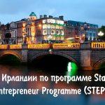 ВНЖ Ирландии по программе Start-up Entrepreneur Programme (STEP) — от 12600  EUR