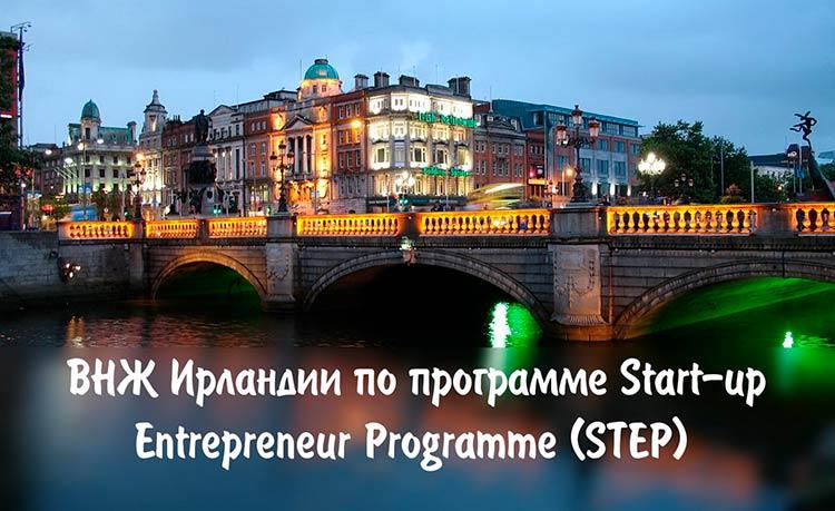 Как оформить стартап-визу в Ирландии