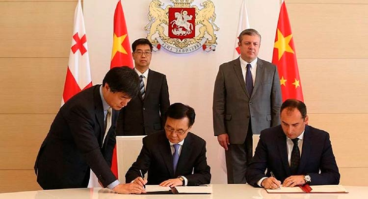 о свободной торговле между Грузией и Китаем