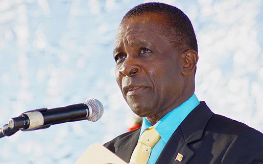 премьер-министр Гренады Кит Митчелл