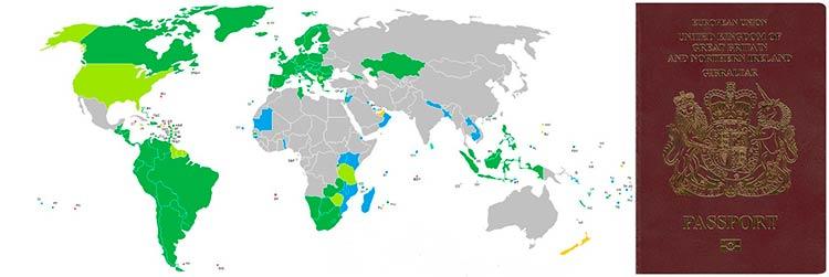 Какие безвизовые страны дает гражданство Гибралтара