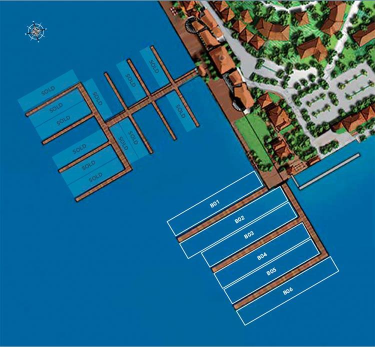 стоянка для яхт в Сент-Китс