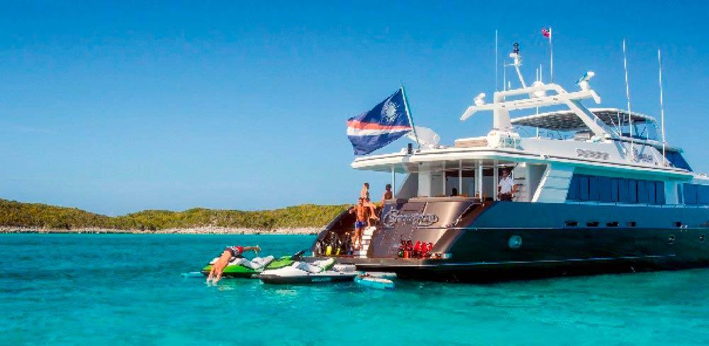 коммерческое судно на Маршалловых островах