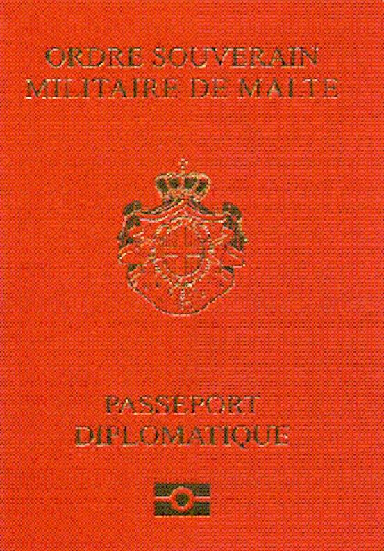 паспорт Мальтийского Ордена