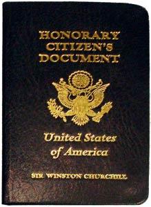 американский паспорт Черчилля 1963 года