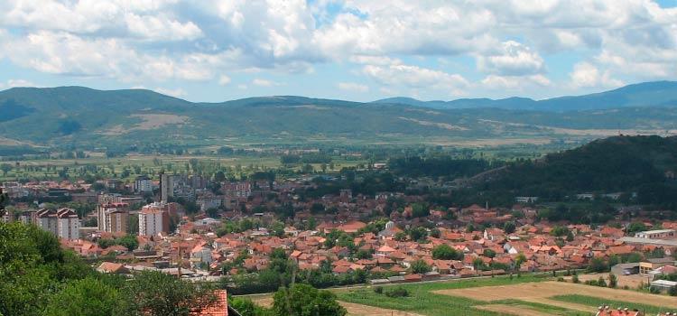 в свободной экономической зоне Сербии