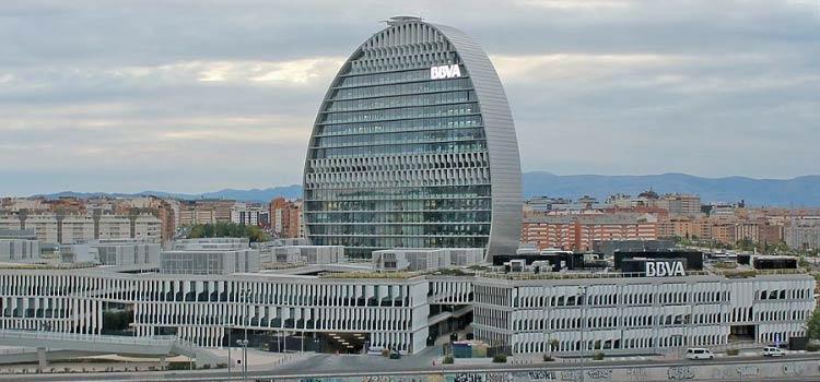 счета в банке BBVA в Испании
