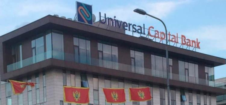 корпоративной счет в Черногории в Universal Capital Bank