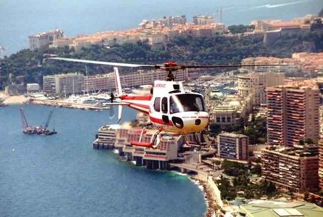 Вертолет-такси в Монако - Фото