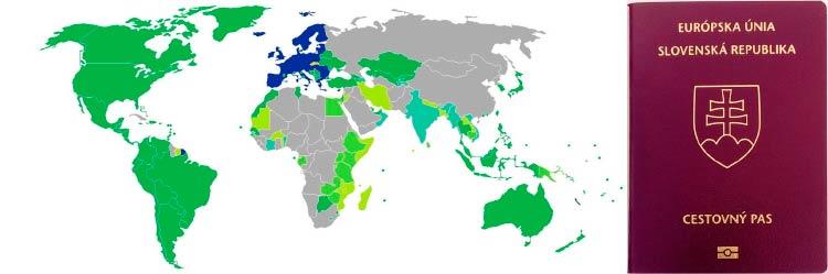 визовые требования для граждан Словакии