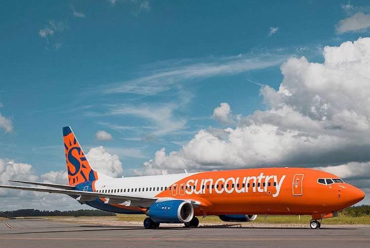 авиакомпания Sun Country Airlines