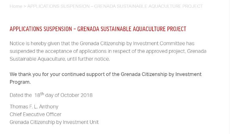 Grenada Sustainable Aquaculture