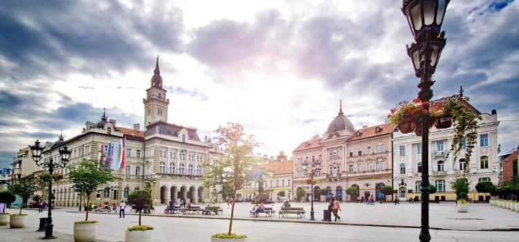 счет в Сербии