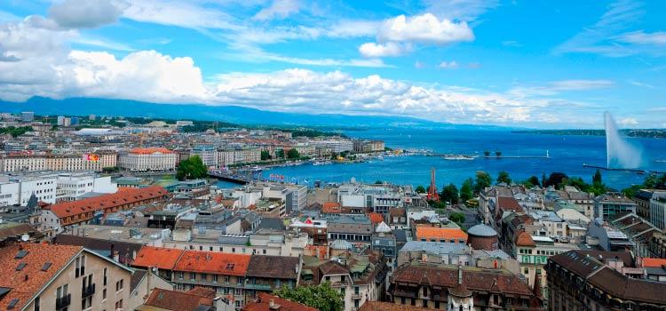 Откройте компанию в Женеве