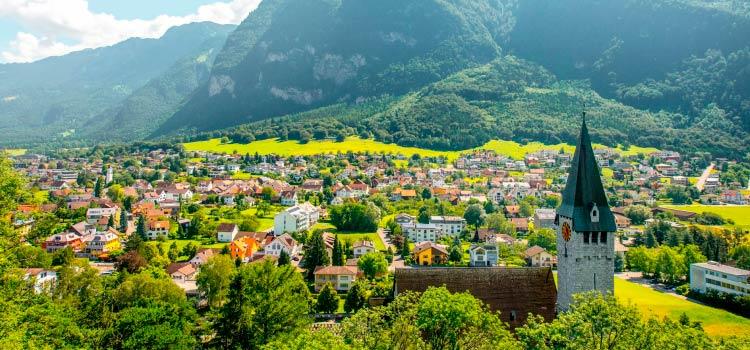 счет в банке Лихтенштейн