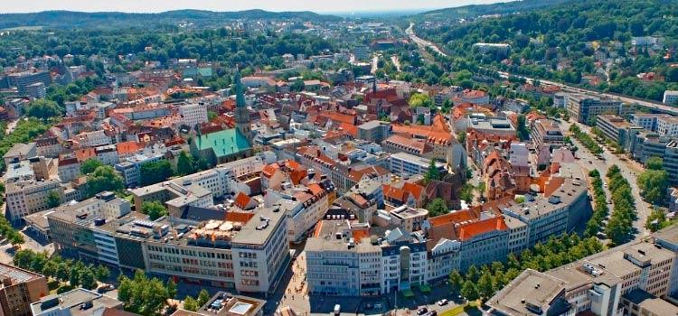 Билефельд для переезда в Германию