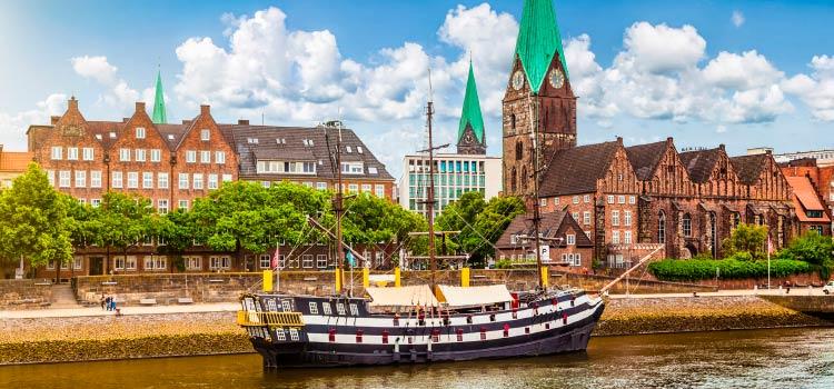 в Германию на ПМЖ, выберите город Бремен