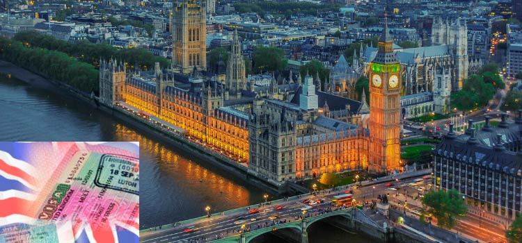 оформить семейную визу в Великобританию