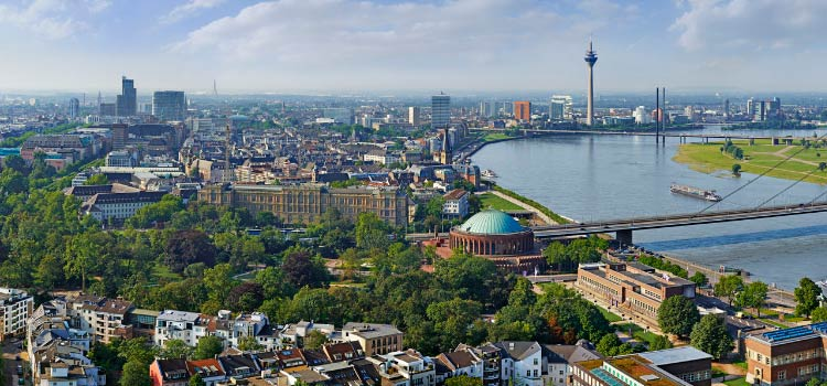 переехать в Германию на ПМЖ в Дюссельдорф