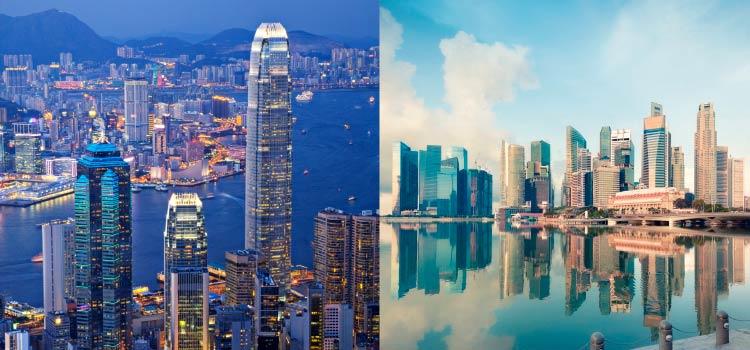 Сравнение Гонконга и Сингапура