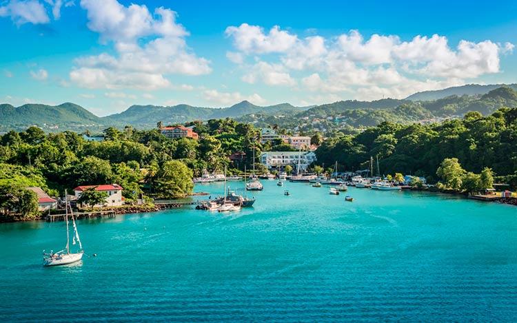 Гражданство за инвестиции на Карибах — новые условия 2020 по Доминике и Сент-Люсии