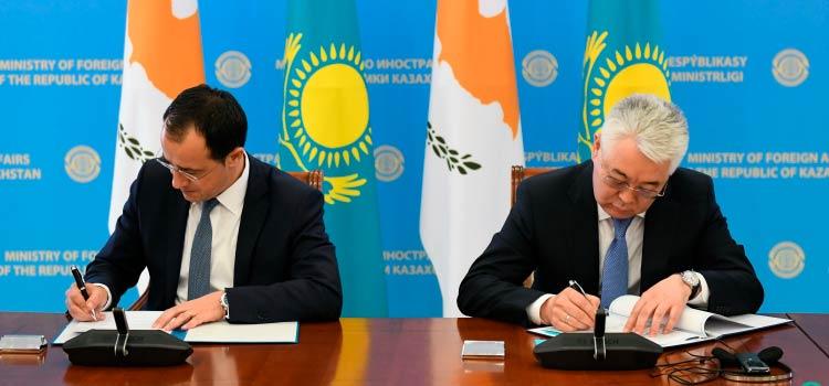налогообложения Кипра и Казахстана