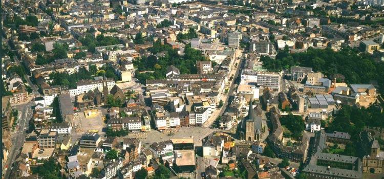 Мёнхенгладбах - город на западе Германии