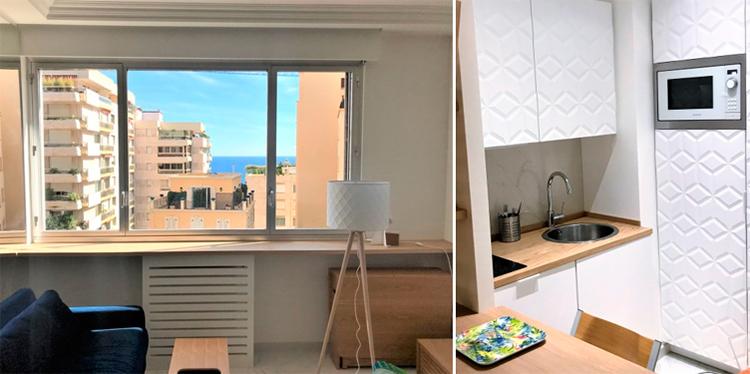 квартира-студия в Монако