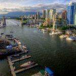 Ванкувер — один из крупных городов Канады и самый большой морской порт страны