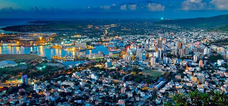 счет в Банке Маврикия