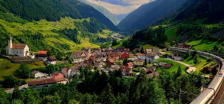 кантон Ури для регистрации швейцарской компании