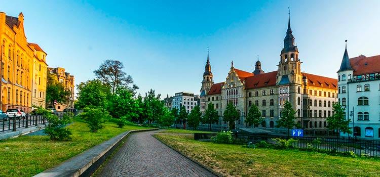 Галле - большой город земли Саксония