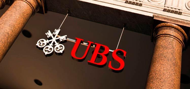 UBS с 1 ноября вводит отрицательные ставки