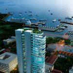 Инвестиции в недвижимость – покупка элитных апартаментов в самом высоком жилом комплексе QN Kition (Ларнака, Кипр)