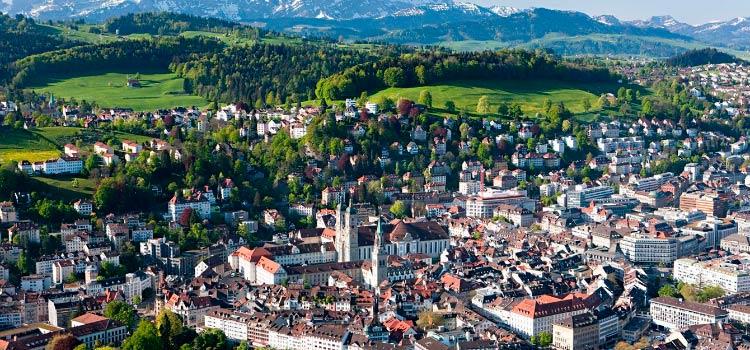 Зарегистрировать компанию GmbH в Швейцарии в кантоне Санкт-Галлен (SG) – от 2500 CHF
