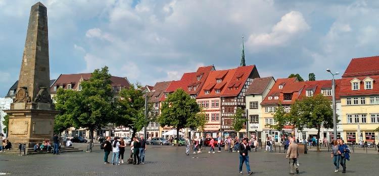 ПМЖ в Германию в Эрфурт экспатов заинтересует