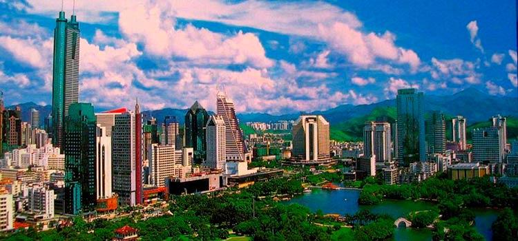 заменить Гонконг Шэньчжэнем