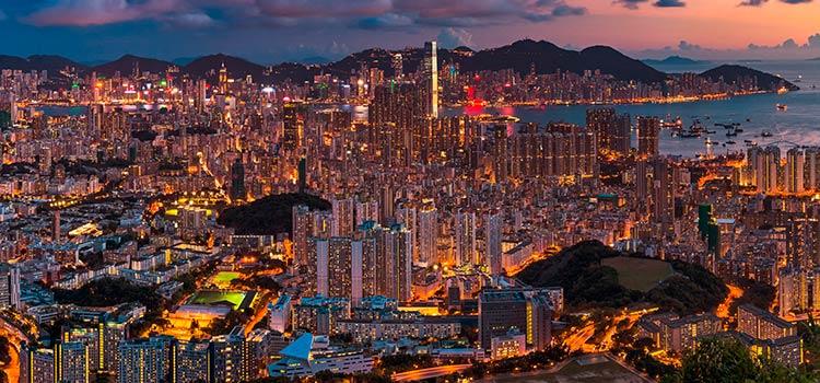 счет для компании в Гонконге