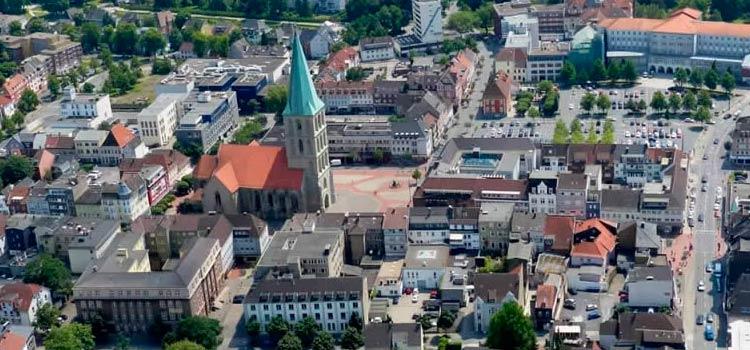 Город Хамм, в Германию на ПМЖ